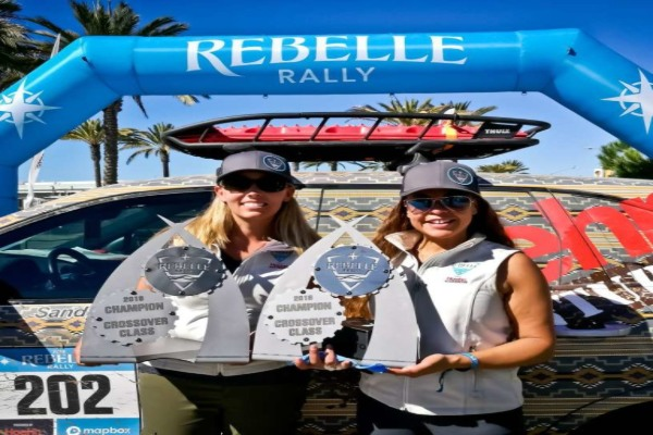 Rebelle Rally 2018 | RACE