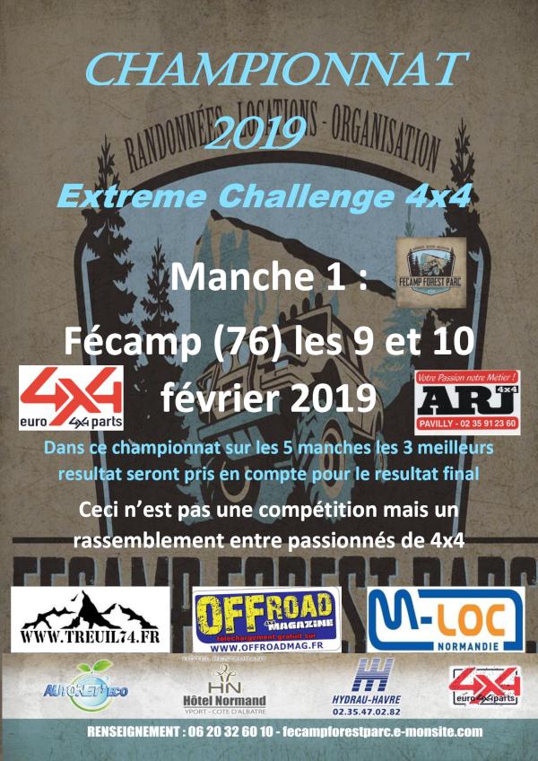 Extreme Challenge Fécamp Forest Parc 2019